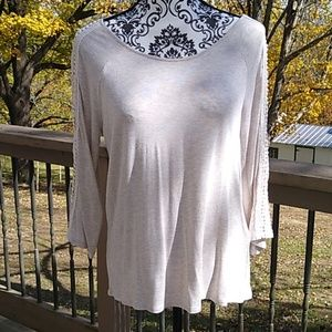 Chico's size 1 (8-10) top with some embellishment